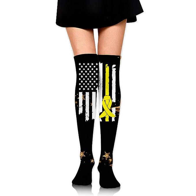 Amazon com: Sarcoma Bone Cancer Awareness USA Flag-1 Womens