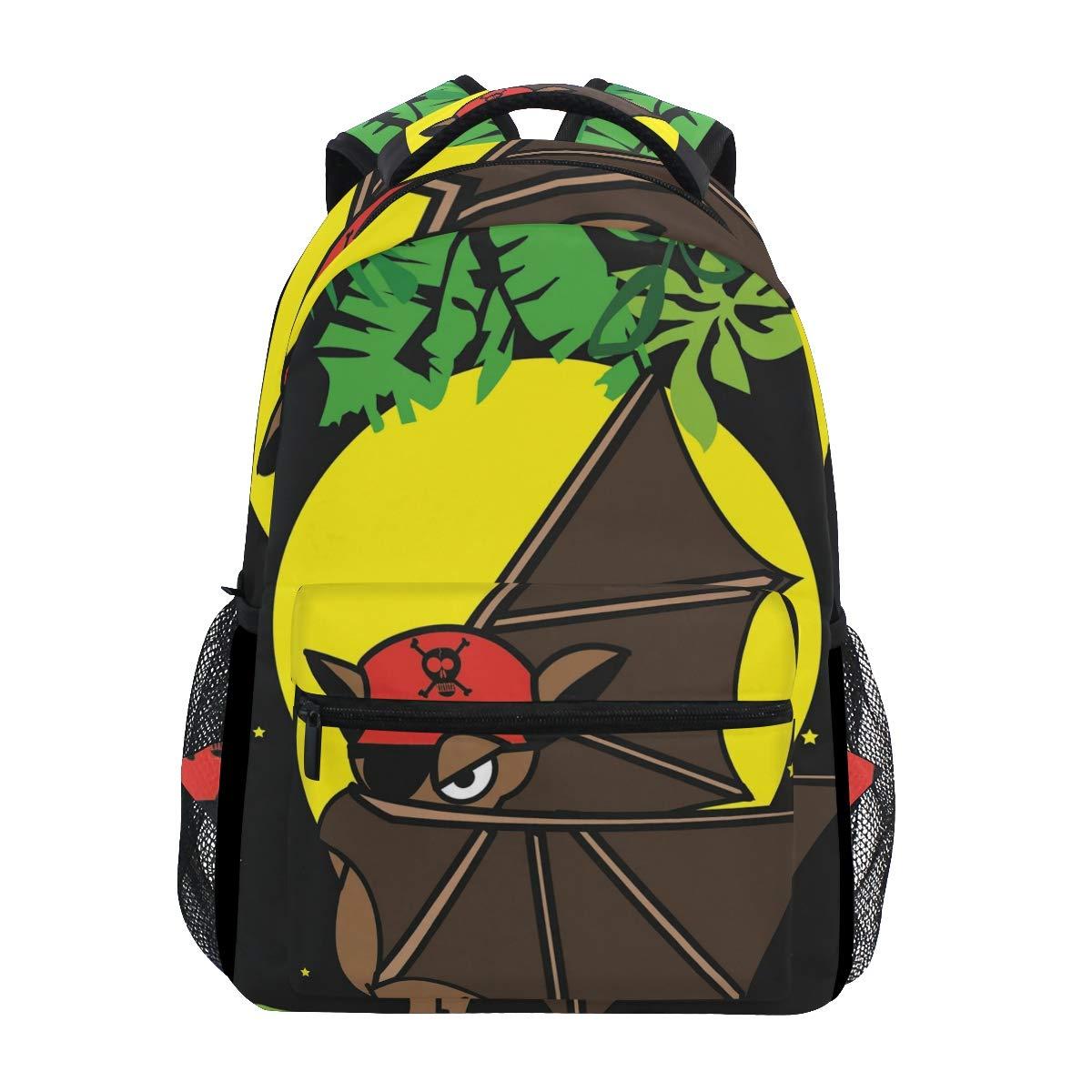 スクールバッグ バックパック 耐久性 旅行 キャンプ バックパック レディース メンズ デイパック ランチボックス 子供 大人用   B07KVWJPCD