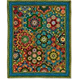 Rondo Vivace Quilt - Millefiori Quilts 3 by Willyne Hammerstein (Original 3/8'' Templates, Papers, and Book)