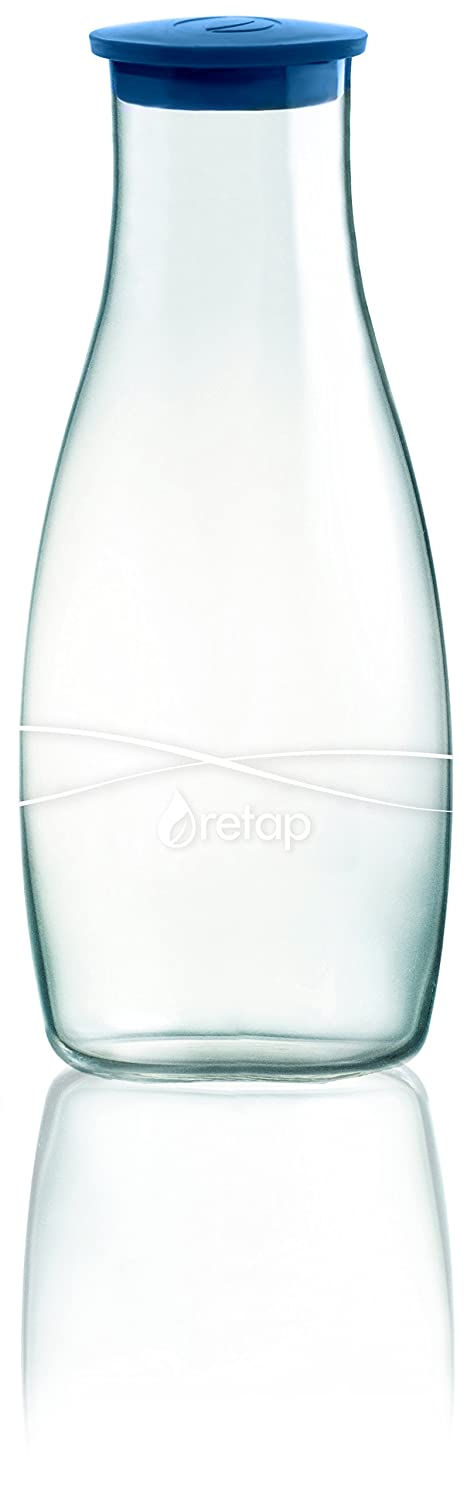 Retap Borosilicate Glass Water /& Wine Carafe Pitcher with Lid