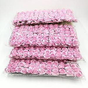 288Pcs/lot Mini Paper Rose Flowers Bouquet Wedding Decoration Paper Flower For DIY Scrapbooking Flowers Paper Cheap 13