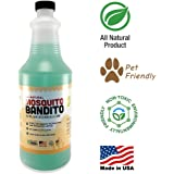 Mosquito Killer Concentrate by Killer Green. Mosquito Killer Spray All Natural Non-Toxic (32 fl oz.)