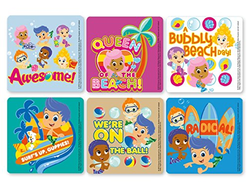 !iT Jeans Bubble Guppies Stickers - Roll of 100]()
