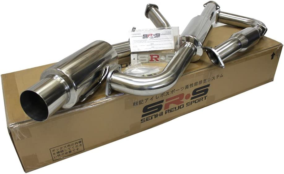 """FOR 95-99 ECLIPSE//TALON NON-TURBO 4.5/""""TIP STAINLESS STEEL CATBACK EXHAUST KIT"""