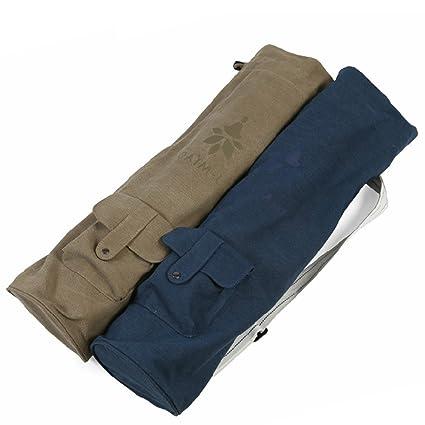 Nueve CIF Sling Yoga Mat ejercicio Bag Carrier Tote bolsa ...