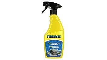 Rain X - Limpiacristales 2 en 1 con protección contra la Lluvia para Parabrisas de Coche