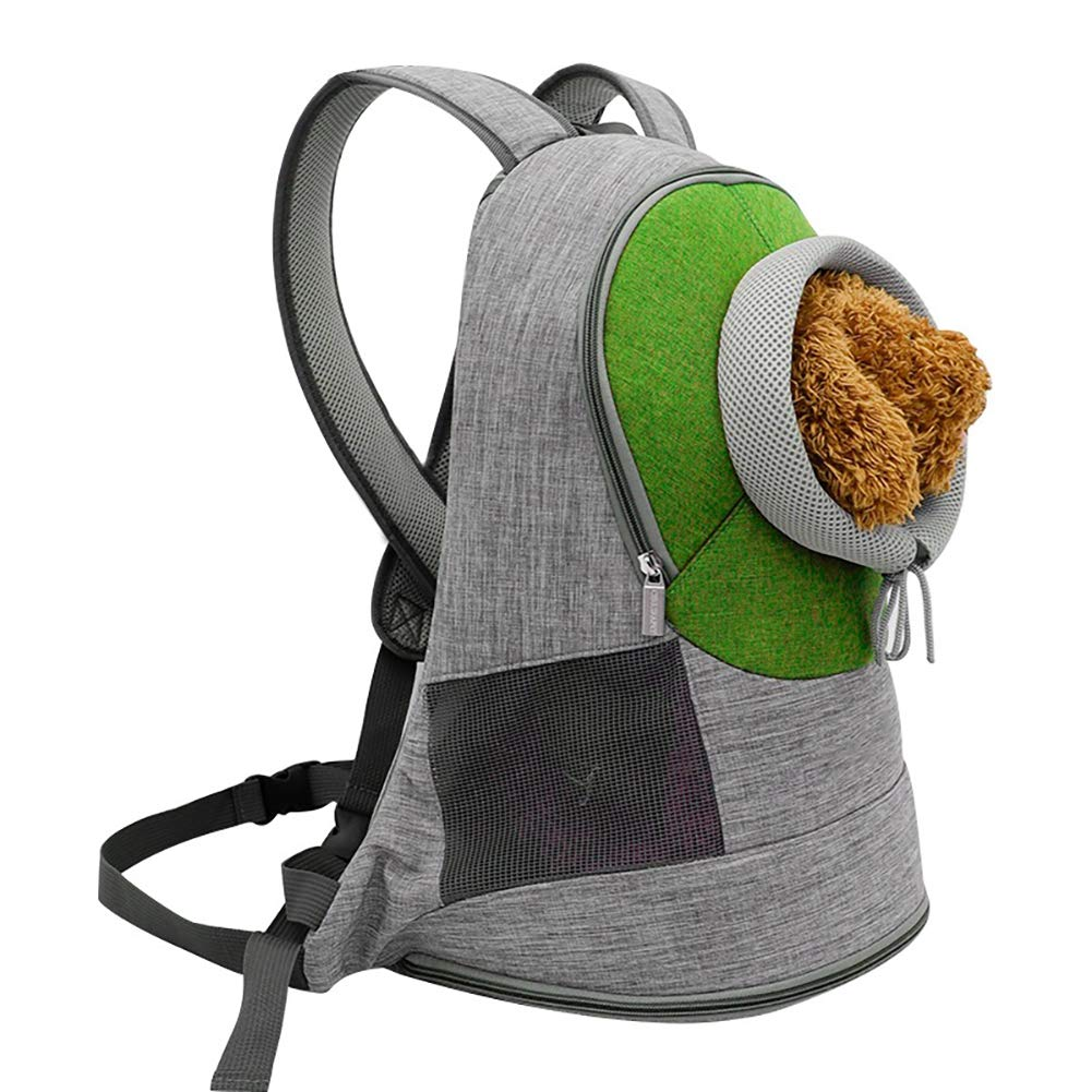 C Medium C Medium Collapsible pet Carrier Backpack with Adjustable Aperture and Breathable Widened Shoulder Strap for Kitten Puppies,C,M