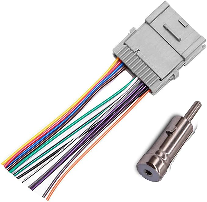 Amazon.com: Stereo Radio Wiring Harness Adapter for GM Chevy GMC Buick  Pontiac: Car Electronics | Battery Wiring Harness 2000 Grand Prix |  | Amazon.com