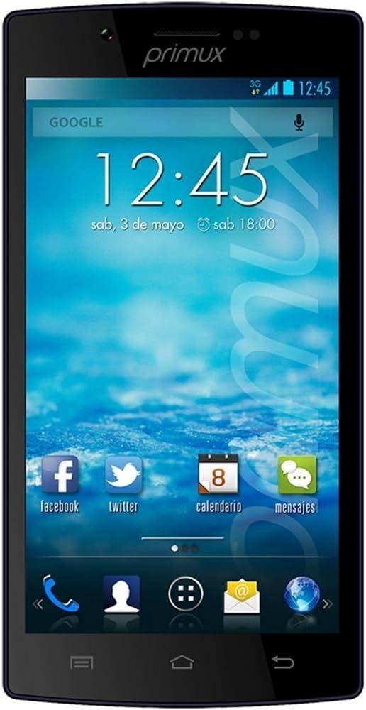 Primux Zeta 2 8GB Negro - Smartphone (12,7 cm (5