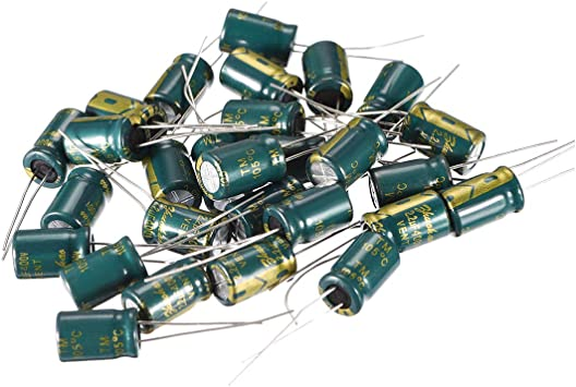 680uF 25V 10X17 50 PCS High ripple current Low impedance Capacitor USA Shipping
