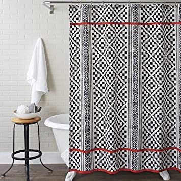 Better Homes And Gardens Shower Curtain, Aztec Diamonds