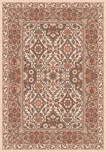 Milliken 4000031429 Pastiche Collection Sandakan Runner Area Rug, 2'4