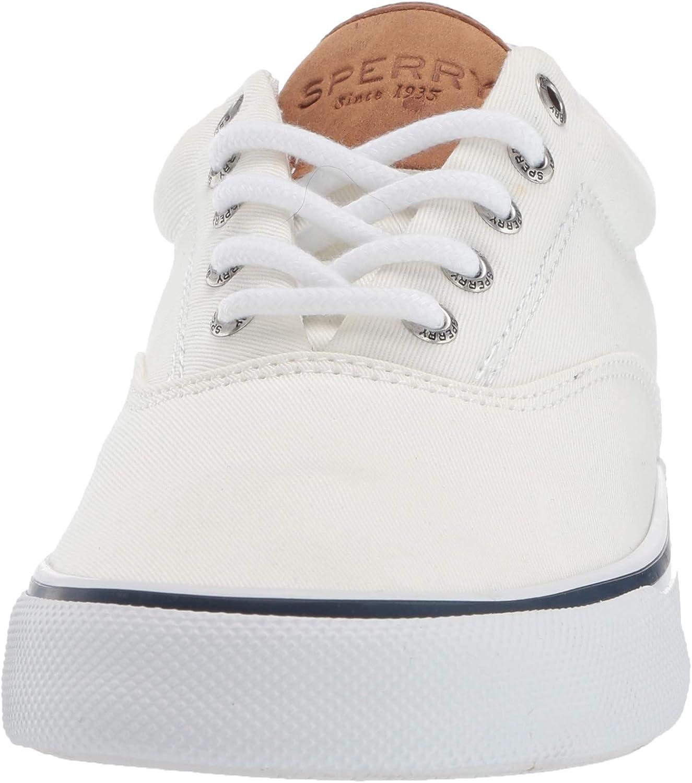 Sperry Herren Striper Ii CVO Washed Red Sneaker, schwarz Sw White