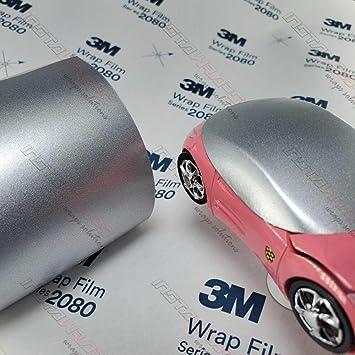 Sample 2.5in x 4in Vinyl CAR WRAP Film 3M 1080 Gloss White G10