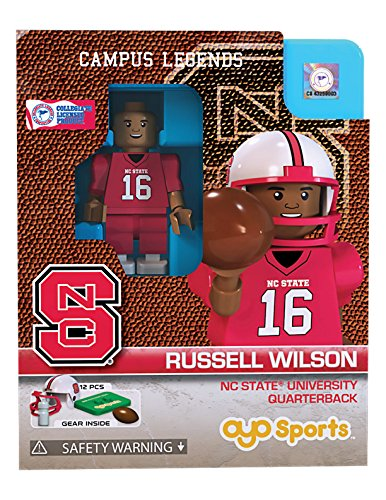 Russell Wilson OYO Generation 1 G1 Series 1 NC State Wolfpack NCAA LE Mini Figure