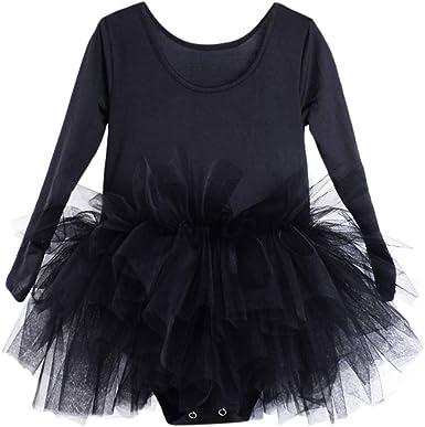 Xmiral Maillot Vestido de Ballet Tutú Algodón Dress de Disfraz ...