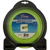 Kawapower KW100-100 Hilo de Nylon para desbrozadoras Redondo