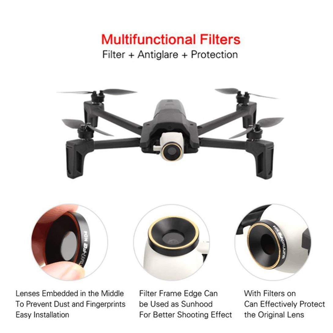 Swiftswan Filtro compatibile per Parrot Anafi Drone Lens Filtri CPL Filter Kit Parrot Anafi Drone