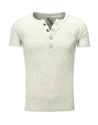 Young and Rich - Tee Shirt Gris Clair Homme Young and Rich 1-872 Gris   Amazon.fr  Vêtements et accessoires 3e2e08842aac