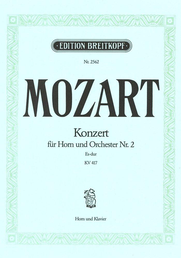 Hornkonzert Es-dur KV 417 - Ausgabe für Horn (Es/F) und Klavier (EB 2562)
