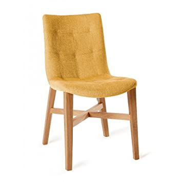 Bsm Stuhl Design Florenz Gelb Eiche Massiv Amazonde Küche Haushalt