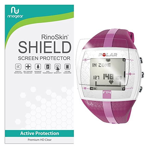 Amazon 6 Pack Rinogear For Polar Ft4 Screen Protector Active