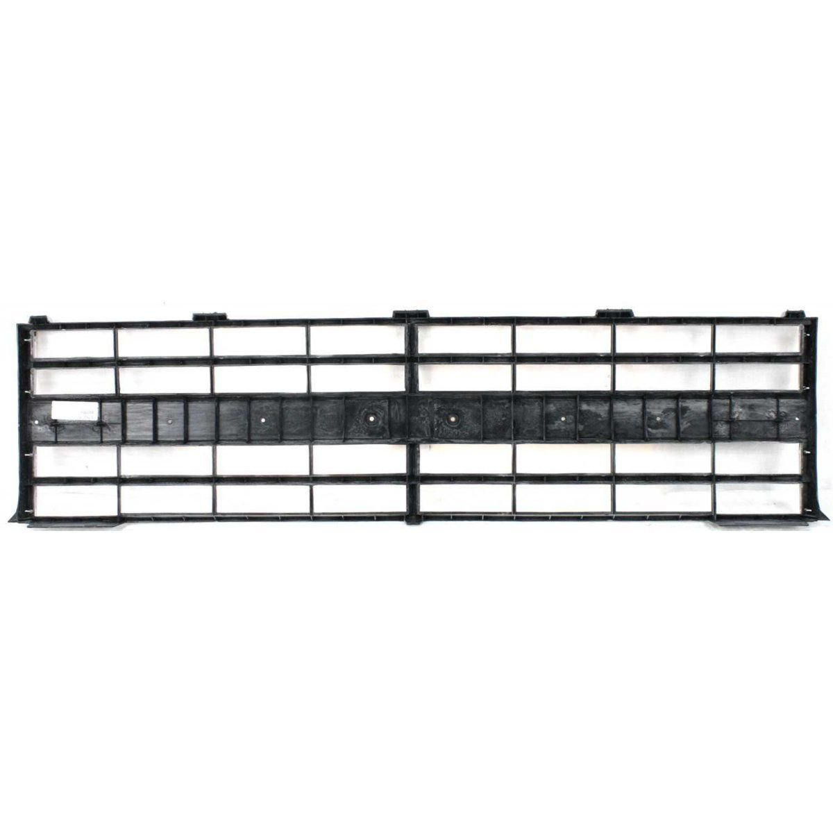 New Grille For 1985-1988 Chevrolet C//K Full Size Pickup For Quad Lamp Style Trucks Painted Argent Has Holes For Center Molding GM1200140 15554911