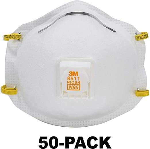 3m dust masks disposable n95 8511