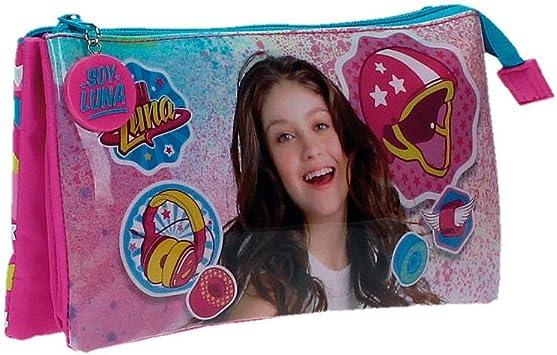 Disney Luna Star Neceser de Viaje, 1.32 litros, Color Rosa: Amazon.es: Equipaje