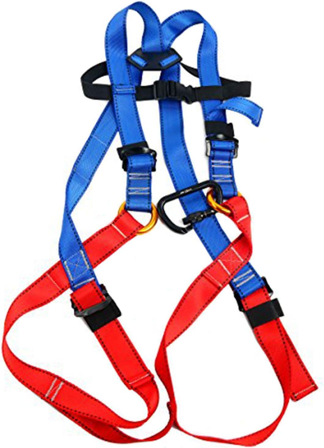 YaeTact Arnés de escalada para niños, arnés de cuerpo completo, cinturón de seguridad Oumers, arnés de guía para entrenamiento de banda al aire libre, ...
