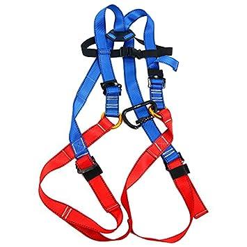 YaeTact-Arnés de escalada para niños, arnés de cuerpo completo ...