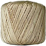 Crochet Thread - Size 10 - Color 16 - TAN - 2 Sizes - 27 Colors Available