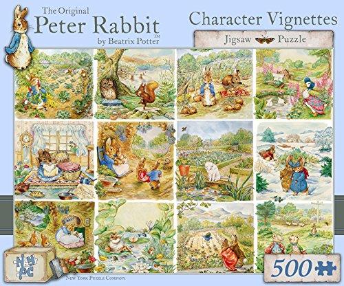 Peter Rabbit Character Scenes - 500 Piece puzzle
