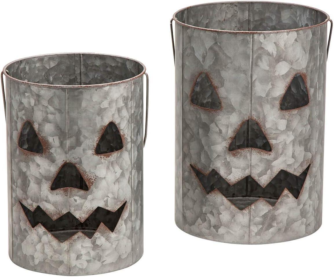 Metal Jack O Lanterns