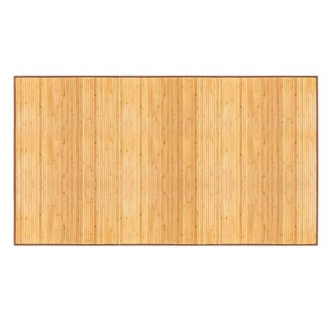 Amazon Com Bamboo Floor Mat 24 X 72 Natural Bamboo Light Wood