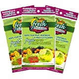 Keep it Fresh Re-Usable Freshness Produce Bags - Set of 30 Gallon Size Bags