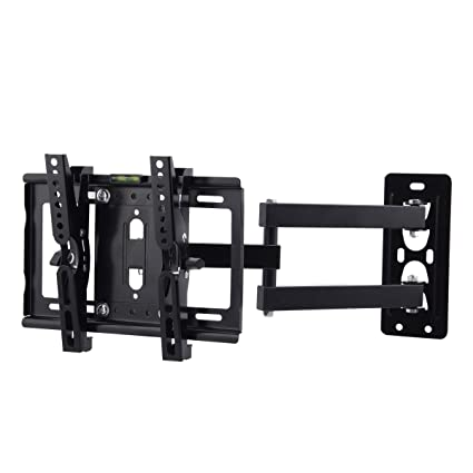49a1d89d0c41 JinNiu Television Computer Wall Mount Full Motion Bracket Swivel up and  Down 15° Extension Arm