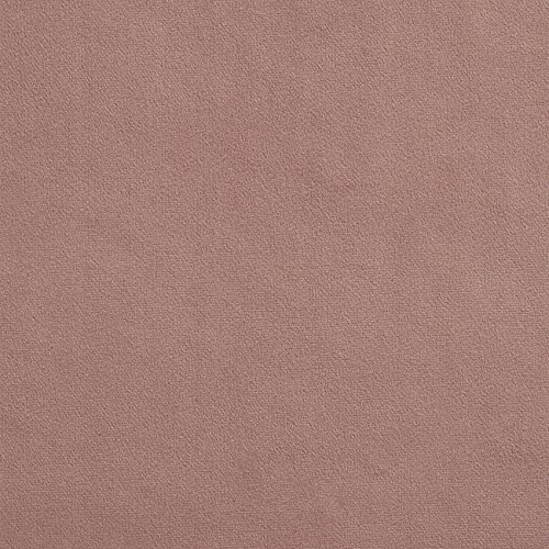 Rose Upholstery Fabric - Dusty Rose Pink Rose Plain Solid Microfiber Microsuede Velvet Performance Grade Fade Resistant Upholstery Fabric by the yard