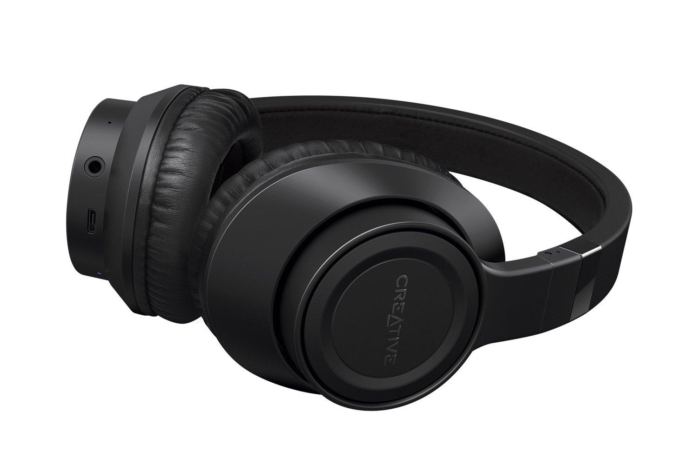 Auriculares Creative Outlier Negro Inalambrico Bluetooth Over-ear 13-horas Duracion High-performance Confortable Y Plega