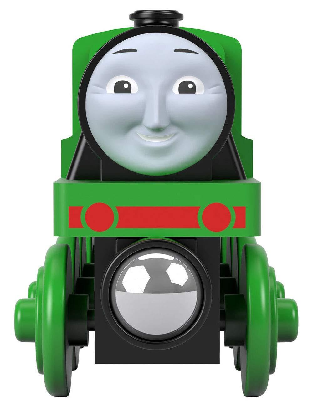 Thomas /& Friends Fisher-Price Wood Henry Push-Along Train Engine