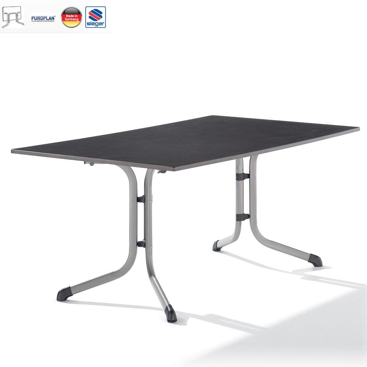 E352630 Klapptisch 160x95cm, graphit