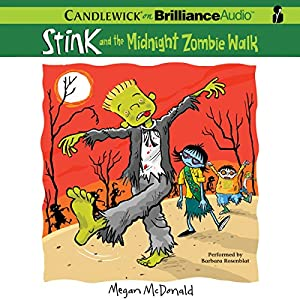 Stink and the Midnight Zombie Walk Audiobook