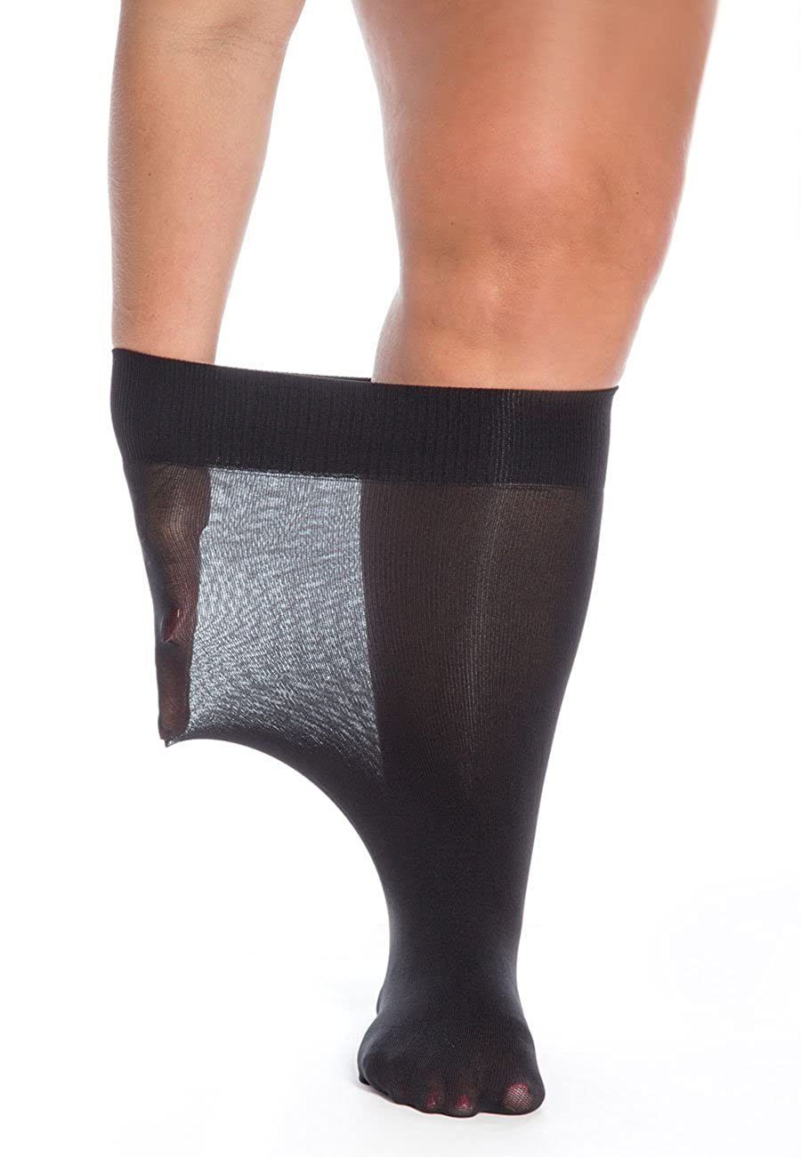 All Woman Super Wide Knee Highs 40 Denier 75 cm Stretch PACK OF 3 078BFBA