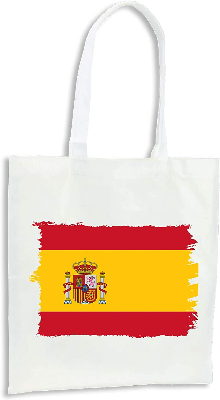 MERCHANDMANIA Pack 2 Bolsas Bandera ESPAÑA Pais Unido Cocina Compra Kitchen: Amazon.es: Ropa y accesorios