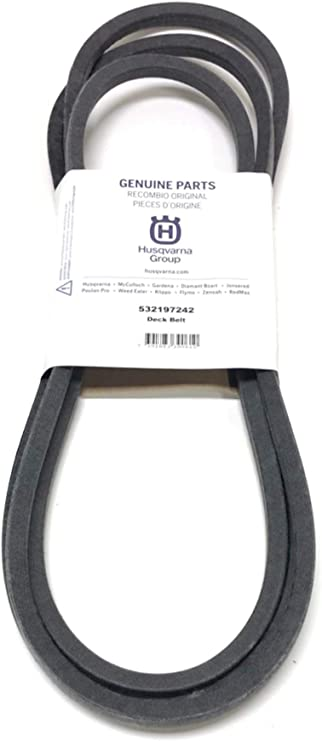 Husqvarna 197242 Lawn Tractor Blade Drive Belt, 5/8 x 139-3/8-in Genuine Original Equipment Manufacturer (OEM) Part
