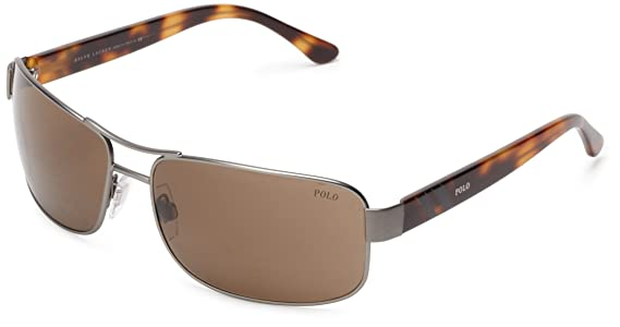 POLO Gafas de sol PH 3070 921773 Gris metal oscuro 64MM: Amazon.es ...