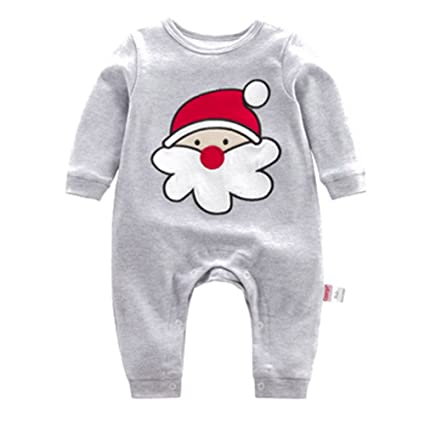 Muchachos Bebé Unisex - Nacido Infantil Animales Buzos Manga Larga Algodón  Trajes Mameluco Para Chicas Chicos b126116db5c