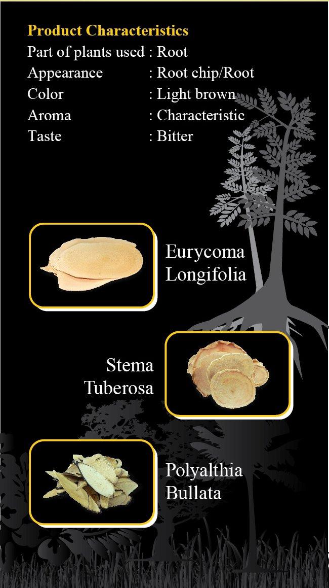 Natural Herbal Sex Booster, 100% Pure Black Tongkat Ali [Polyalthia Bullata] Root Slices (100g) by Rahsia Herbal (Image #5)