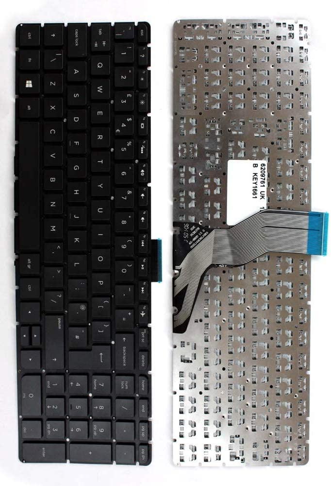 HP Pavilion 15-ab058TU HP Pavilion 15-ab058ur Keyboards4Laptops UK Layout Black Windows 8 Laptop Keyboard Compatible with HP Pavilion 15-ab058nc HP Pavilion 15-ab058TX HP Pavilion 15-ab058no