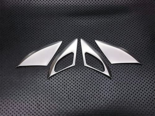 For Insignia 2018-2020 Steel Matte Inner Door Handle Bowl Cover Trim 4pcs Car Stytle Accessoies